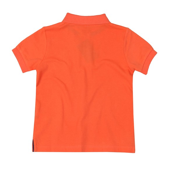 Hackett Boys Orange Number 1 Class Polo Shirt main image