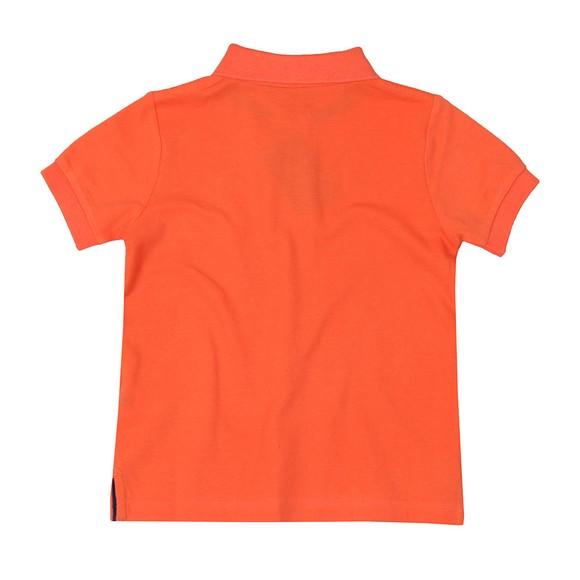 Hackett Boys Orange Number 1 Class Polo Shirt