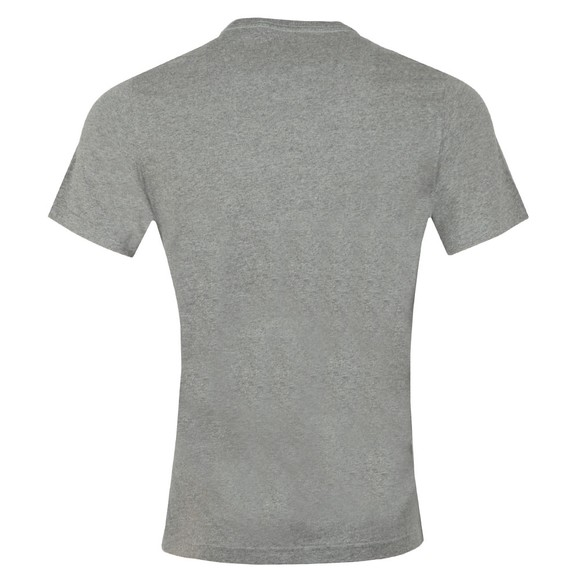 Barbour International Mens Grey Bike Stripes Tee main image