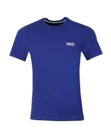 Barbour International Mens Blue Small Logo Tee