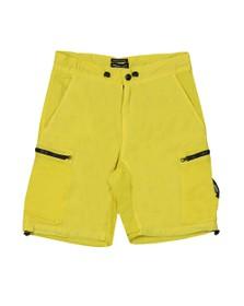 Marshall Artist Mens Yellow Garment Dyed Cargo Short
