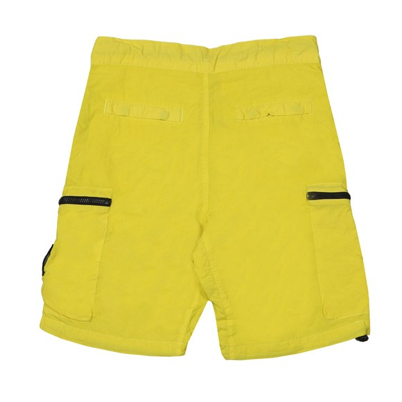 Marshall Artist Mens Yellow Garment Dyed Cargo Short main image