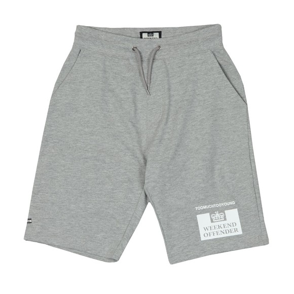 Weekend Offender Mens Grey Action Short main image