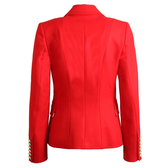 Holland Cooper Womens Red Knightsbridge Blazer