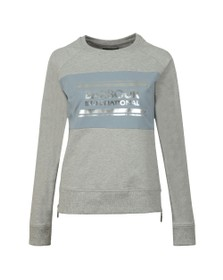 Barbour International Womens Grey Sprinter Sweatshirt