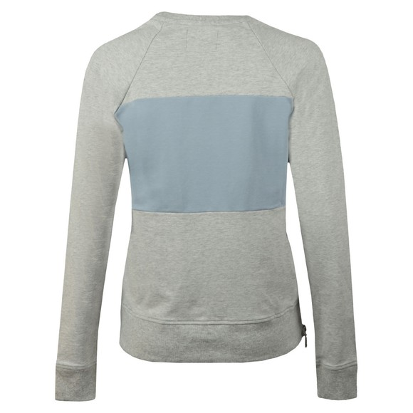 Barbour International Womens Grey Sprinter Sweatshirt main image