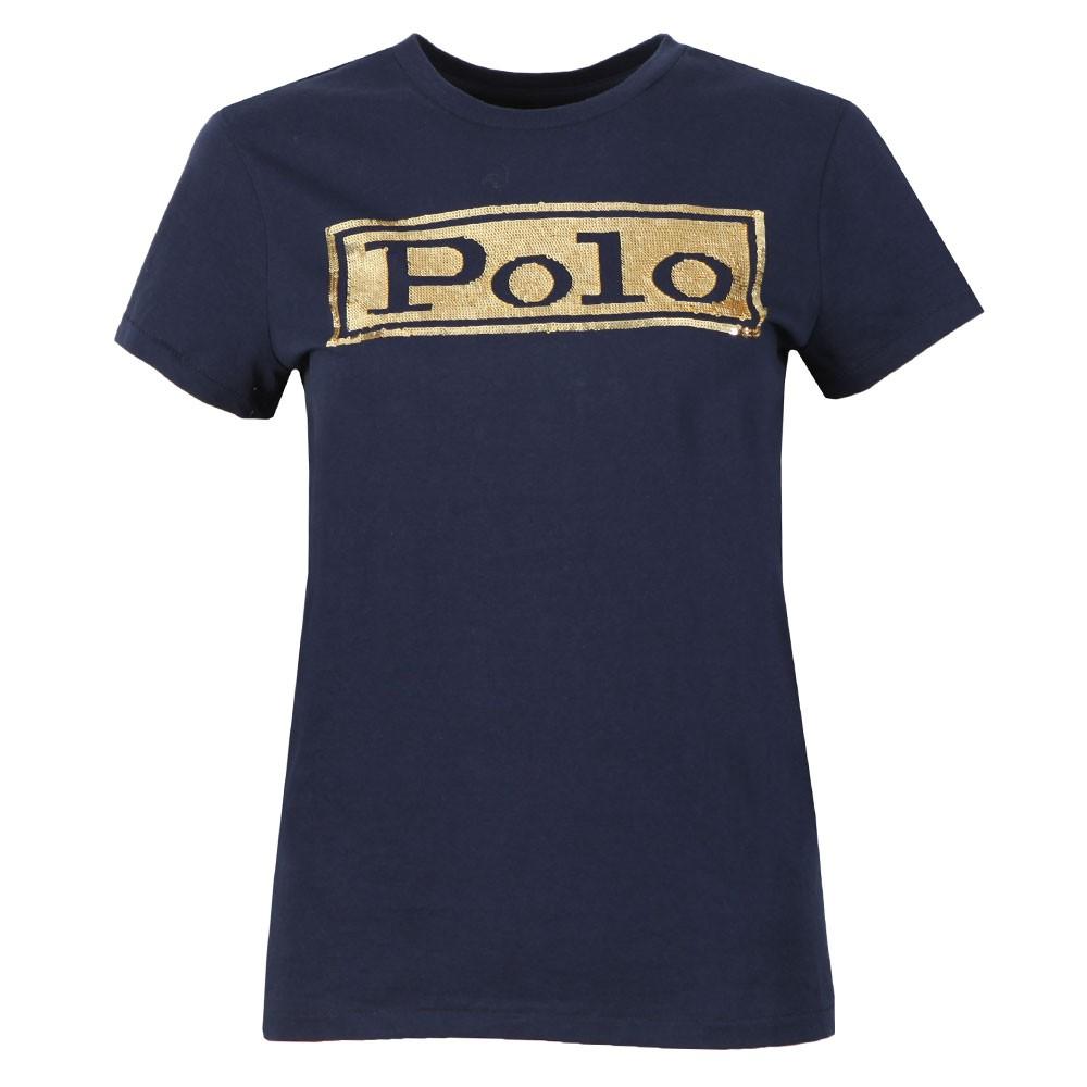 Sequin Logo T Shirt