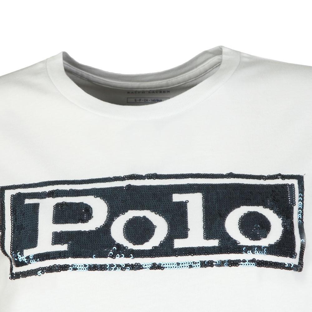 Sequin Logo T Shirt main image