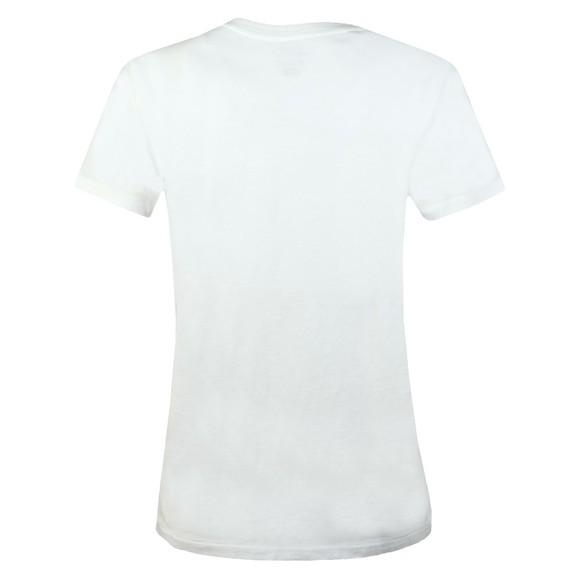 Polo Ralph Lauren Womens White Sequin Logo T Shirt main image