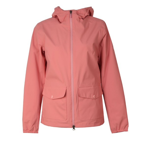 Barbour Lifestyle Womens Red Abrasion Jacket main image