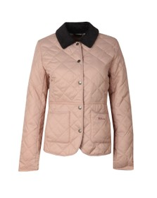 Barbour Lifestyle Womens Pink Deveron Quilt