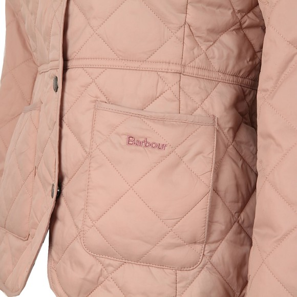 Barbour Lifestyle Womens Pink Deveron Quilt main image