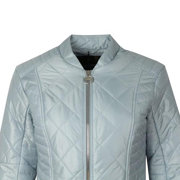 Barbour International Womens Blue Sprinter Quilt Jacket main image