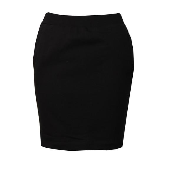 Calvin Klein Jeans Womens Black Track Logo Skirt main image