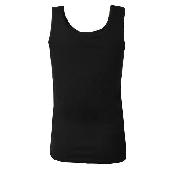 Calvin Klein Jeans Womens Black Logo Vest Top main image