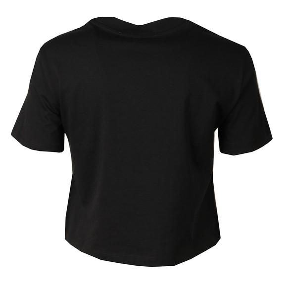 Calvin Klein Jeans Womens Black Printed T Shirt main image