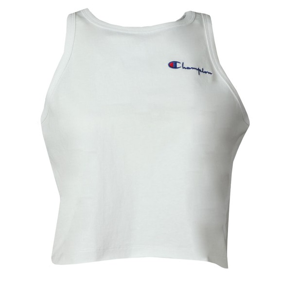 Champion Reverse Weave Womens White Loose Fit Vest main image