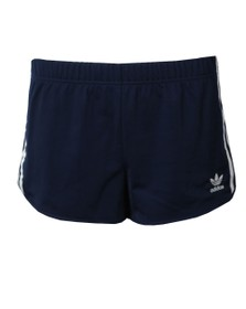 adidas Originals Womens Blue 3 Stripe Short