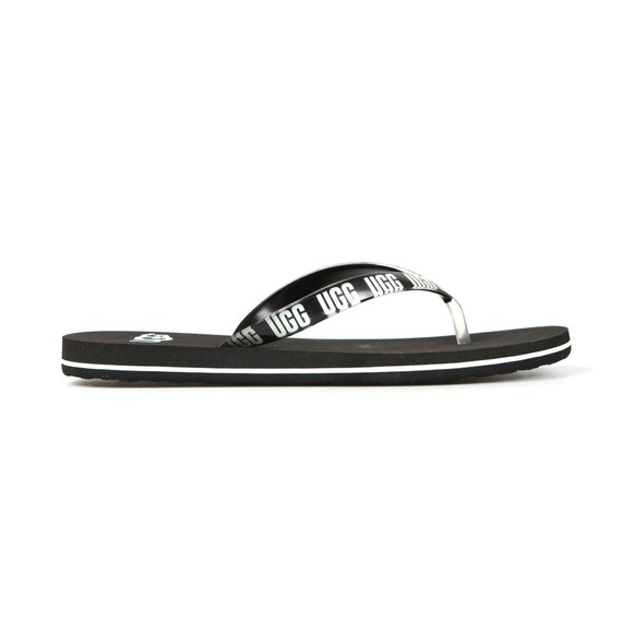 Ugg Womens Black Simi Graphic Flip Flop main image