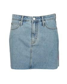 Calvin Klein Jeans Womens Beige Mid Rise Skirt