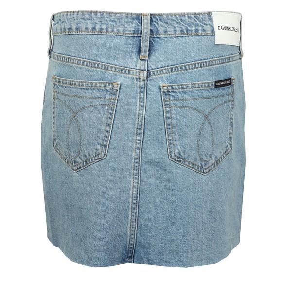 Calvin Klein Jeans Womens Beige Mid Rise Skirt main image