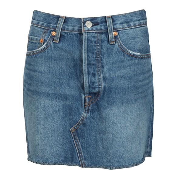 Levi's ® Womens Blue Deconstructed Skirt