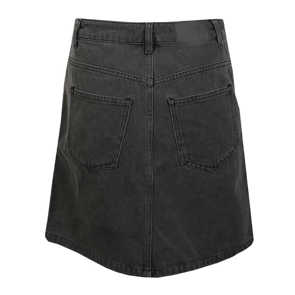 Pepper Denim Zip Side Mini Skirt main image