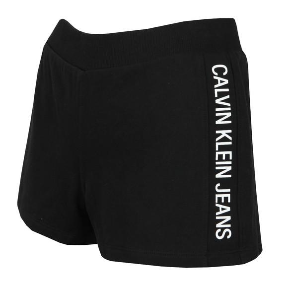 Calvin Klein Jeans Womens Black Track Logo Short main image
