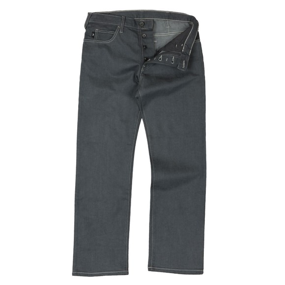 Emporio Armani Mens Grey J21 Regular Fit Jean