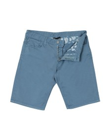 Emporio Armani Mens Blue Chino Short