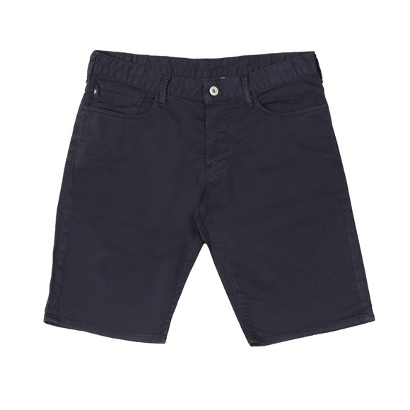 Emporio Armani Mens Blue Chino Short main image