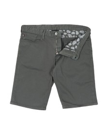 Emporio Armani Mens Grey Chino Short