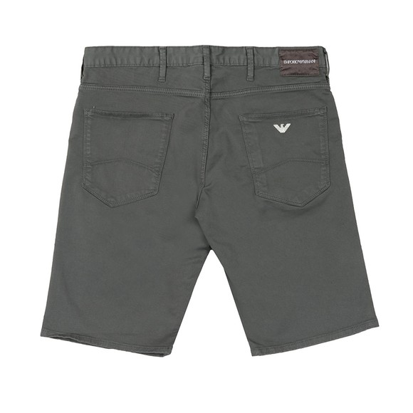 Emporio Armani Mens Grey Chino Short main image