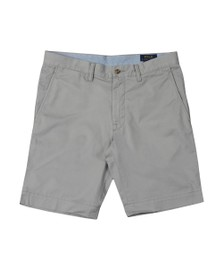 Polo Ralph Lauren Mens Grey Bedford Flat Short