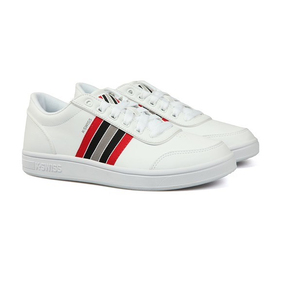 K Swiss Mens White Court Clarkson Trainer main image