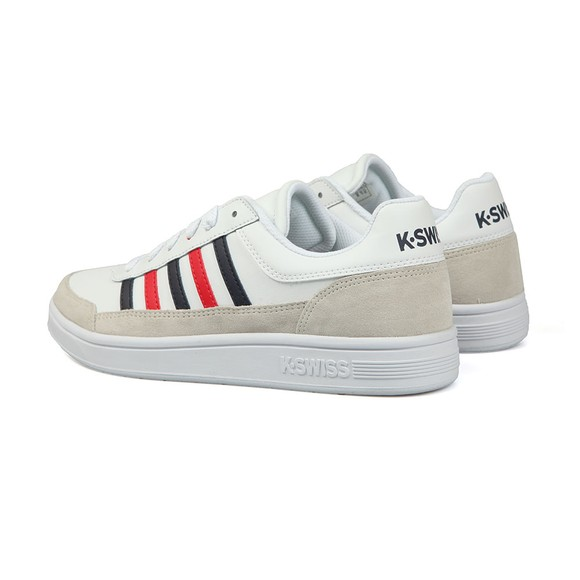K Swiss Mens White Court Chasseur Trainer main image