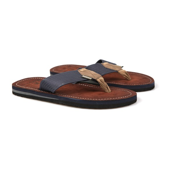 Barbour Beacon Mens Blue Toeman Flip Flop