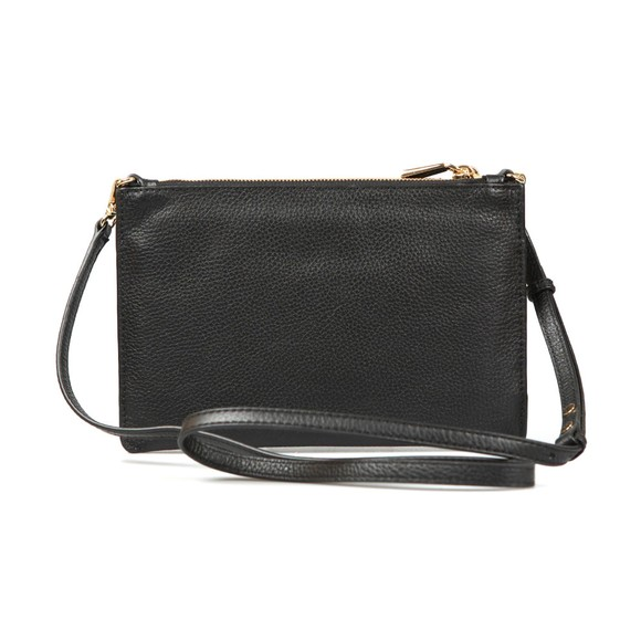 Michael Kors Womens Black Large Double Pouch Crossbody Bag main image