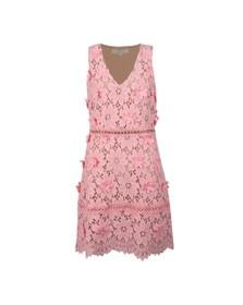 Michael Kors Womens Pink Carnation Woven Dress