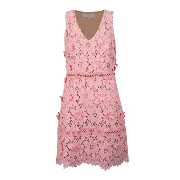 Michael Kors Womens Pink Carnation Woven Dress