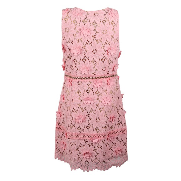 Michael Kors Womens Pink Carnation Woven Dress main image