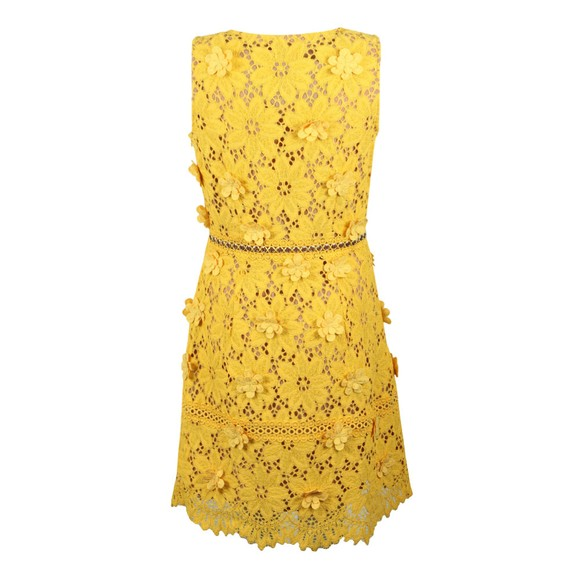 Michael Kors Womens Yellow Carnation Woven Dress main image