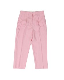 Michael Kors Womens Pink Carnation Woven Pant
