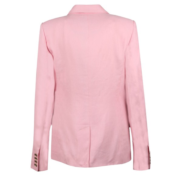 Michael Kors Womens Pink Carnation Woven Jacket main image