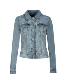 Levi's Womens Blue Original Trucker Jacket