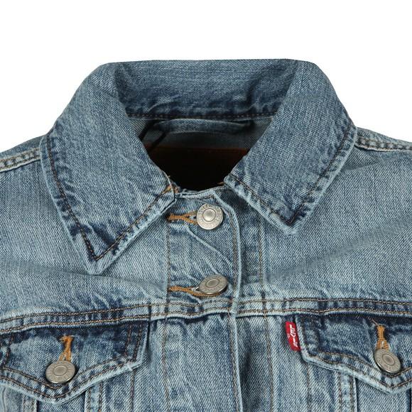 Levi's Womens Blue Original Trucker Jacket main image
