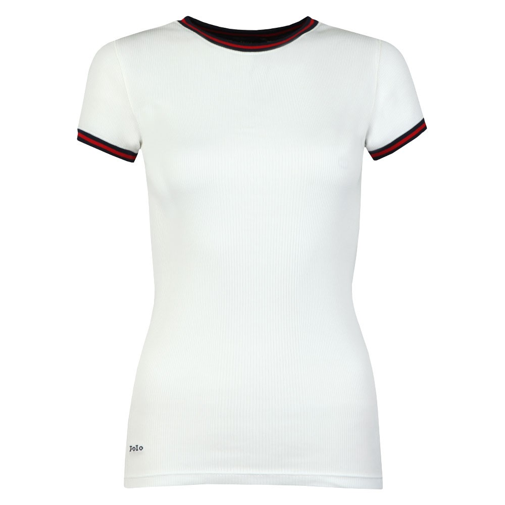 Ribbed Ringer T Shirt main image