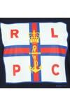 Polo Ralph Lauren Womens Blue Crown Flag T Shirt