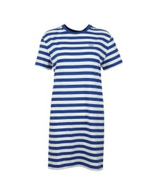 Polo Ralph Lauren Womens Blue Striped T-Shirt Dress