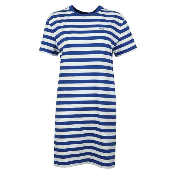 Blue T Shirt Womens Striped Dress kiuPZTOX